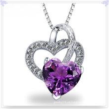 Collar pendiente de moda 925 joyas de plata esterlina (NC0110)
