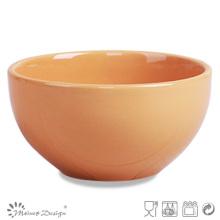 13.5cm Tazón de fuente lleno colorido del arroz del esmalte Uso casero