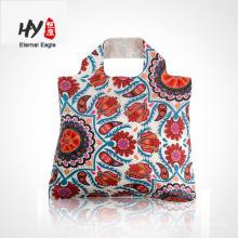Продвижение новый дизайн складная хозяйственная сумка полиэфира