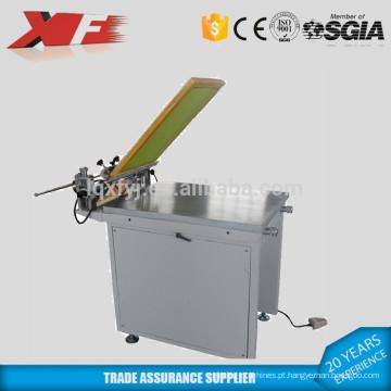 Máquina de impressão de tela manual com mesa de sucção