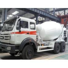 China Construction Machinery Beiben Beton-Mischer-LKW für Verkauf