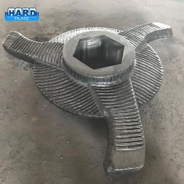 Chromium Carbide Clad Sinter Crusher Rotor Blade