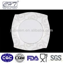 A066 La nueva llegada personalizó la placa de cena de cerámica