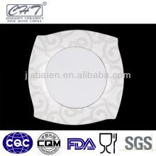 A066 Nouvelle assiette à la cire en céramique personnalisée