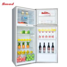 Top Mount General Double Door Electronic Refrigerator Freezer For Home