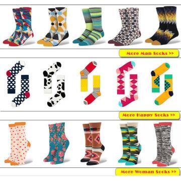Fábrica China personalizar todo tipo de calcetines de los hombres y las mujeres