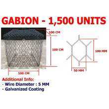 hexagonal wire mesh gabion box Protection System