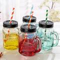 Bocal à conserves en verre 450ml avec poignée verre pot à boire