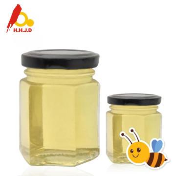 Nutrición rica y miel de acacia cruda