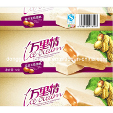 Plastikhülse für Eis-Lutschbonbon / Popsicle / Eiscreme / Nahrungsmittelverpackungs-Hülse