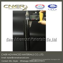 Tubo redondo de fibra de carbono CNER 30mm 14mm 15mm 13mm