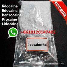 Хлоргидрат Benzocaine Порошок HCl Анестезин Антипирин Базы Местноанестезирующих Лекарственных Средств
