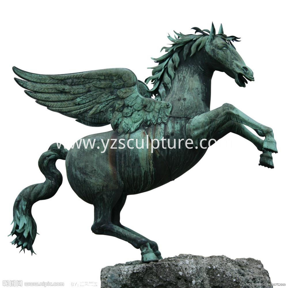 Bronze Flying Horse Sculpture