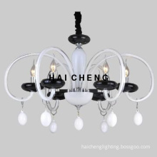 Modern glass chandelier lighting with CE
