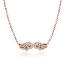 Moda jóias de aço inoxidável senhoras colar