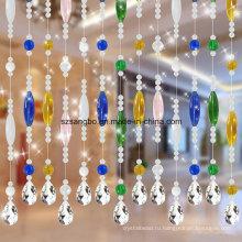 Стеклянный шарик занавес для украшения или окно или дверь