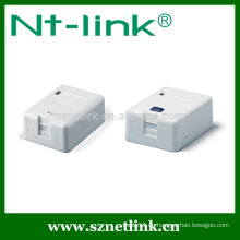 Single-Port-Plastik-Keystone-Buchse Surface Mount Box