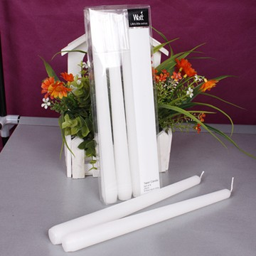 lighting decoration paraffin wax plain taper Candle