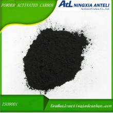 poudre de bois de qualité médicale, charbon actif lavé à l'acide
