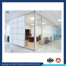 Profilé en aluminium de nouvelle conception à chaud pour partition