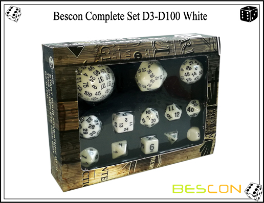 Complete Dice Set D3-D100 (2)