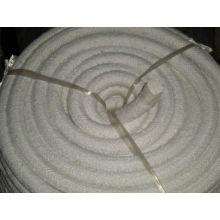 Cuerda redonda de fibra cerámica para materiales de aislamiento térmico