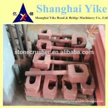 tension rod/pull rod for jaw&impact crusher