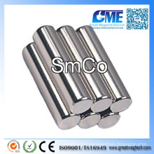 "D1/4""X1"" Cylinders Samarium Cobalt Magnet"