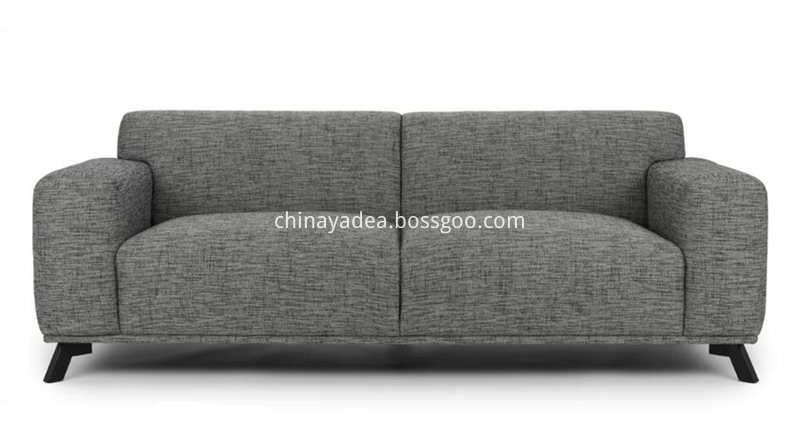 Real-Photo-of-Volu-Licorice-Cream-Fabric-Sofa