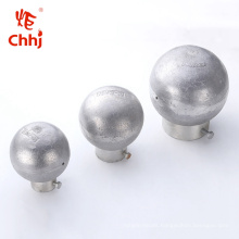 End-Ball for tubular Subastation Fitting bus bar MGZ Type