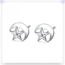 Jóia de prata jóias brinco 925 jóias de prata esterlina (se154)