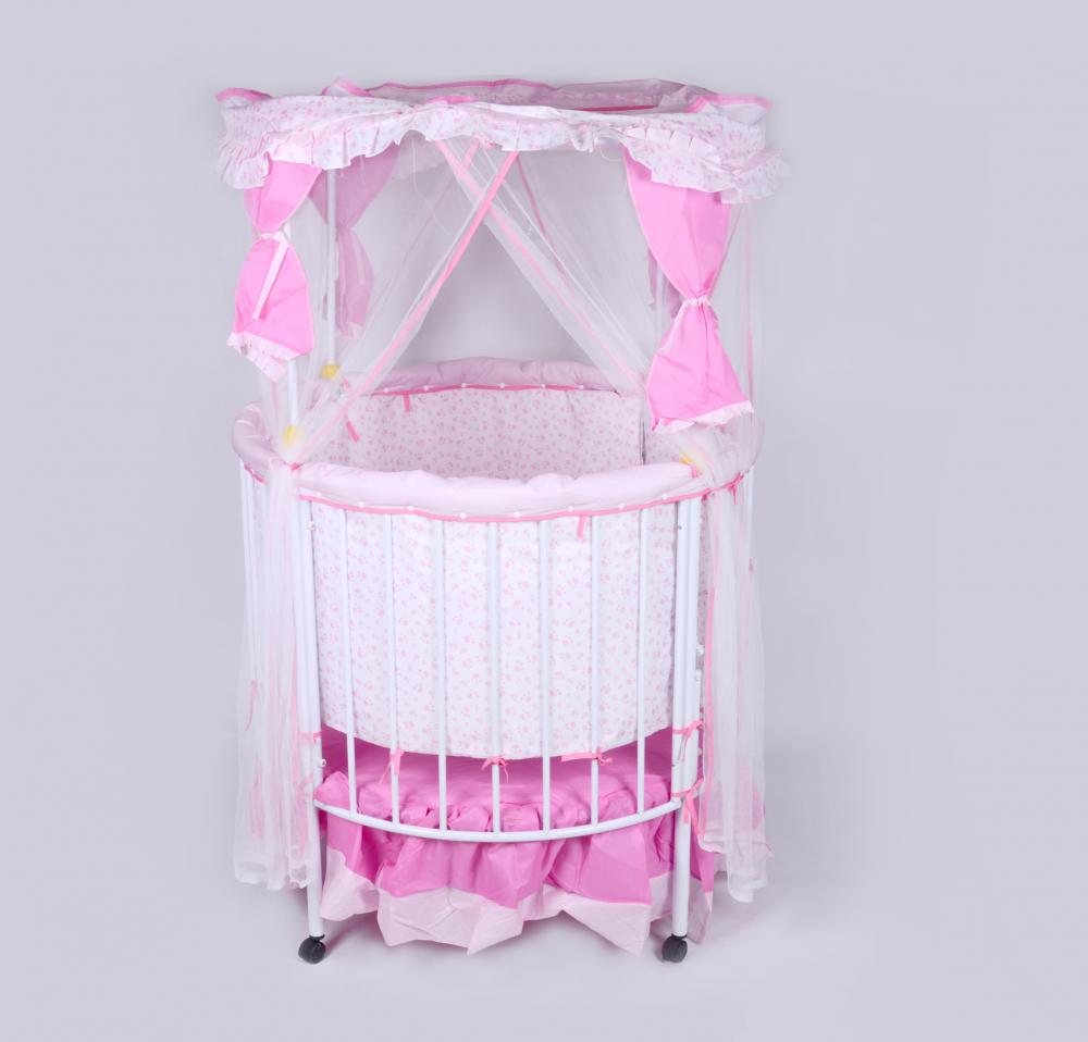 Round Shape Baby Bed and Playpen