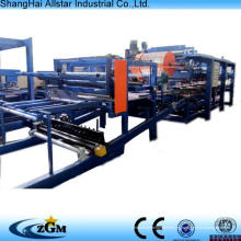 máquinas de fabricación tipo lana de roca sándwich panel rollo formando equipo