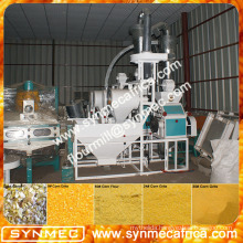 high quality small scale maize flour milling machines for sale