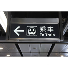 Airport Subway Lieux publics Safety Emergency LED Exit Sign