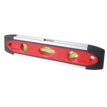 Rubber Torpedo Spirit Level with Magnetic Base