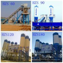Planta de mistura de concreto móvel