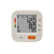 Monitor de pressão arterial tipo braço com luz de fundo inteligente