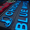 Custom LED Lighted Sign för butiksfronter