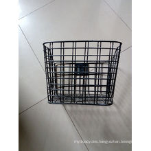 Contact Supplier Chat Now! Branded Unremovable Kids Bike Basket/Steel Wire Bicycle Basket Whoelsale