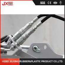 JXFLEX Brand Steel Wire Reinforced Rubber Hose