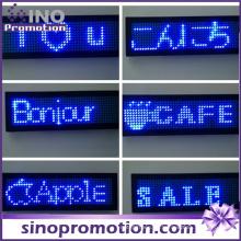 Insignia de la identificación de la etiqueta del nombre de exhibición del pecho portable del LED
