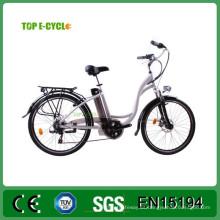 China fabricante 36V 250W Guewer bicicleta eléctrica mujeres