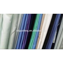 china textile supplier sarga de algodón grueso 100% C 21 * 21 60 * 60 57/58 '140gsm teñido de tela