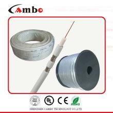 El mejor cable 75ohm / 50ohm del CCTV del cambo RG59 del precio de la alta calidad con CCS / BC certifica la fábrica / fabricante del certificado CE / UL / ISO9001 en ella