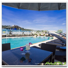 Audu Thailand Sunny Hotel Project Rattan SunBed