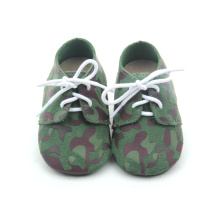 Fancy Camouflage Color Baby Oxford zapatos al por mayor