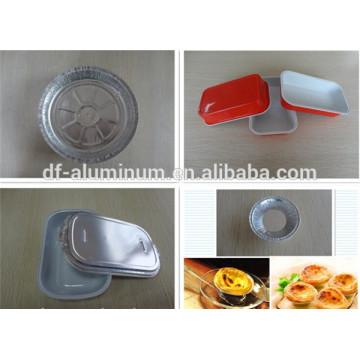 Einweg-Aluminiumfolie Backschalen Tart Pan Cupcake