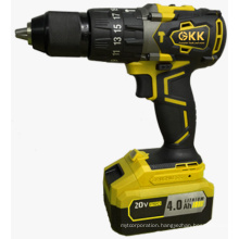 High-Quality 20V 4000mAh Lithium Battery Brushless Impact Drill Electric Tool Power Tool