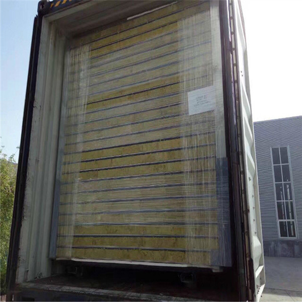 automatic rock wool sandwich panel